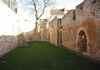 Les restes de l'église St Lubin près du Chateau