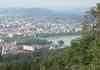 Depuis un point de vue dans la foret, Annecy