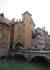 Le pont de Morens, et sa porte