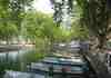 Le canal du Vassé vers le pont des amours