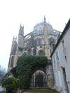 La Cathédrale St Etienne dans la brume