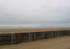 Plage de Deauville, au loin le Havre