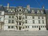 Aile François 1er, escalier monumental de type vis
