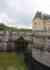 Douves de l'entrée du chateau