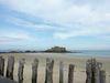 A St Malo, vue sur une île