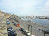 Vue depuis les remparts sur le port à St Malo