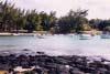 A l'île Maurice, la côte nord-ouest...