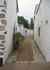 Vue sur une des ruelles blanches de Noirmoutier en l'ile