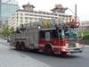 Camion des pompiers de Montréal