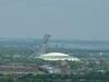 A Montréal, le stade olympique et sa tour inclinée, observatoire