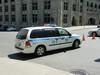 Voiture de police à  Montréal