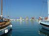 Les trois moulins sur le port du Mandraki
