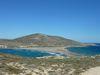 L'isthme de l'île de Prassonissi