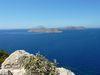 Vue sur l'île de Karpathos