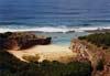 Une crique sur l'île Rodrigues....