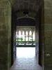 Porte vers Le cloître