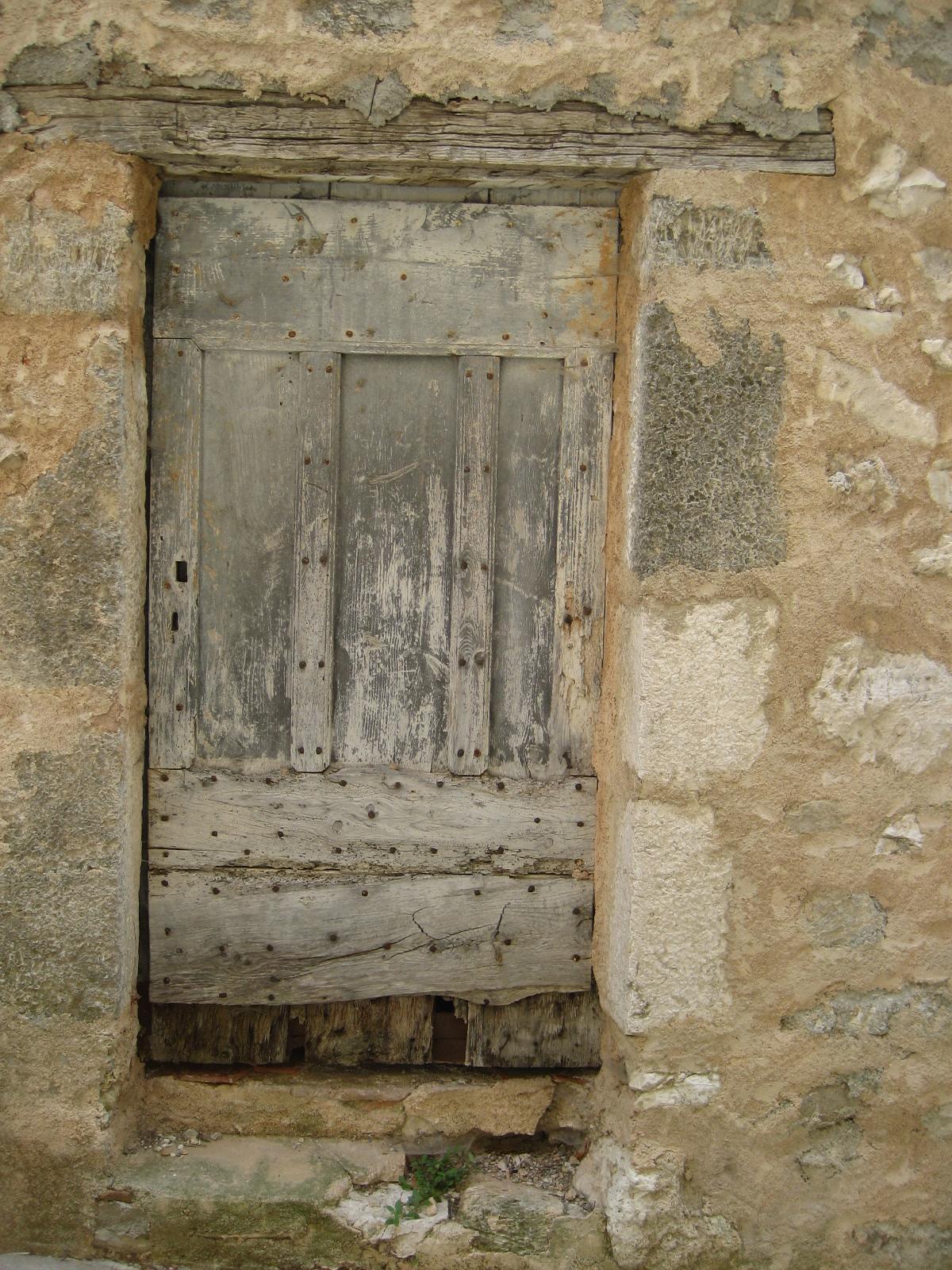 Portes mon site moua - Restaurer une vieille porte en bois ...